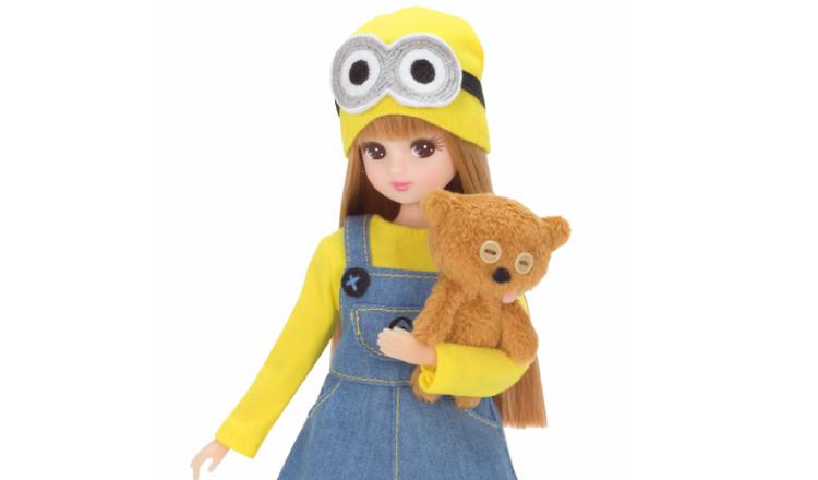 莉卡娃娃挑戰cos小小兵?!「最喜歡小小兵的莉卡娃娃」新發售 小小兵、