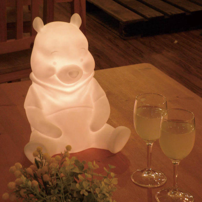 Bellemaison小熊維尼充電式LED夜燈