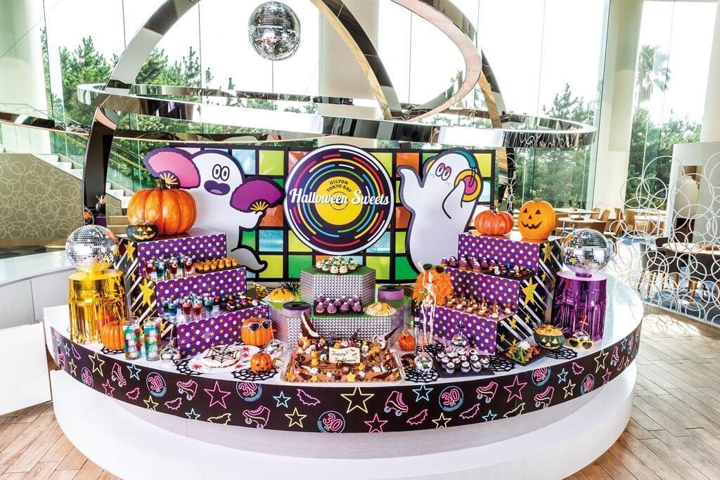 東京灣希爾頓酒店的萬聖節Buffet「Halloween Disco」將舉辦 甜點、萬聖節、