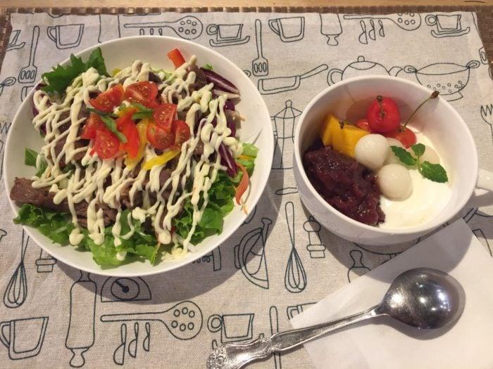 佐賀縣銀魂佐賀春計畫原創餐點阿銀企劃西西里亞米飯紅豆甜湯