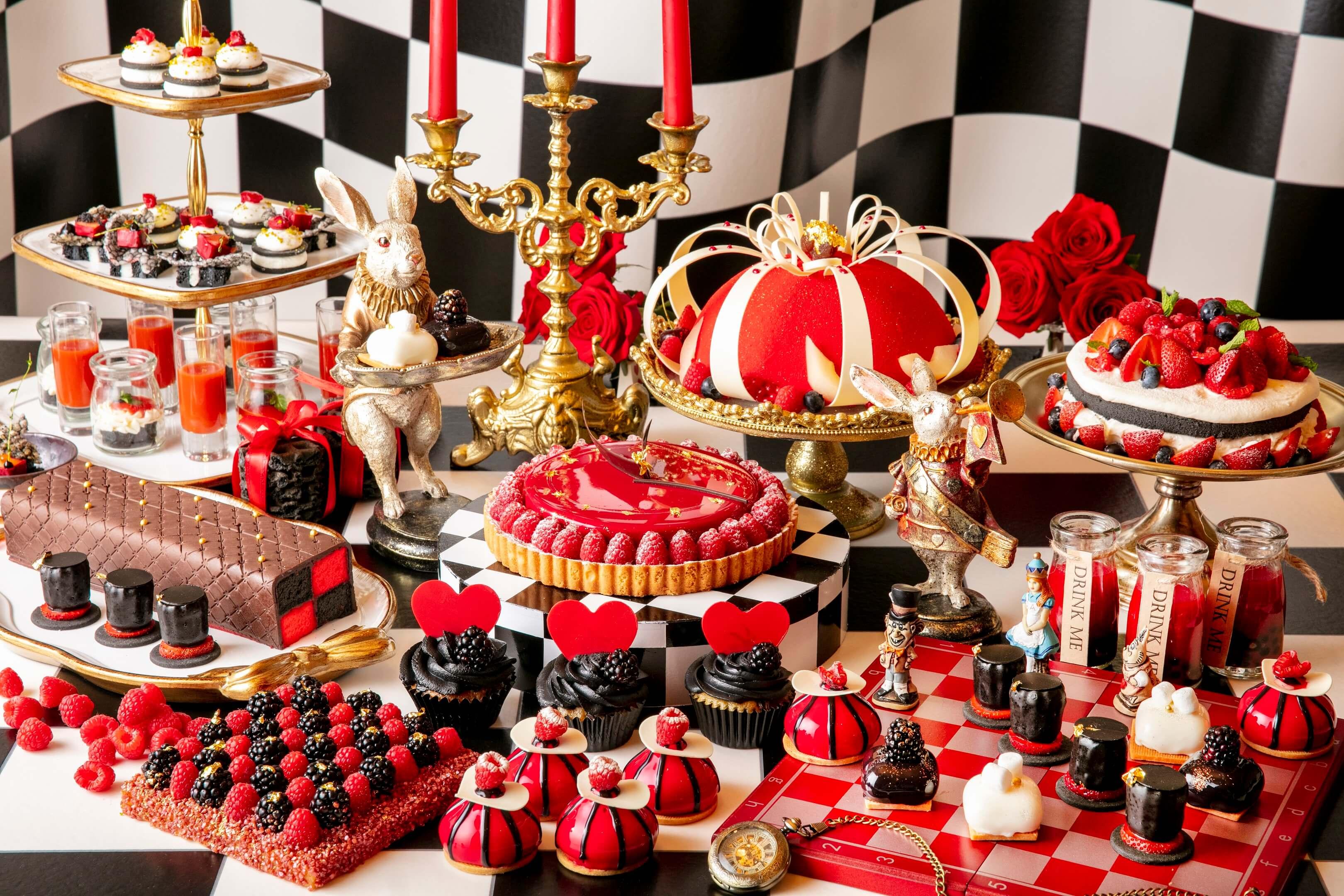 實際體驗型甜點Buffet「Alice in Halloween Trick」將於東京希爾頓酒店舉辦 萬聖節、