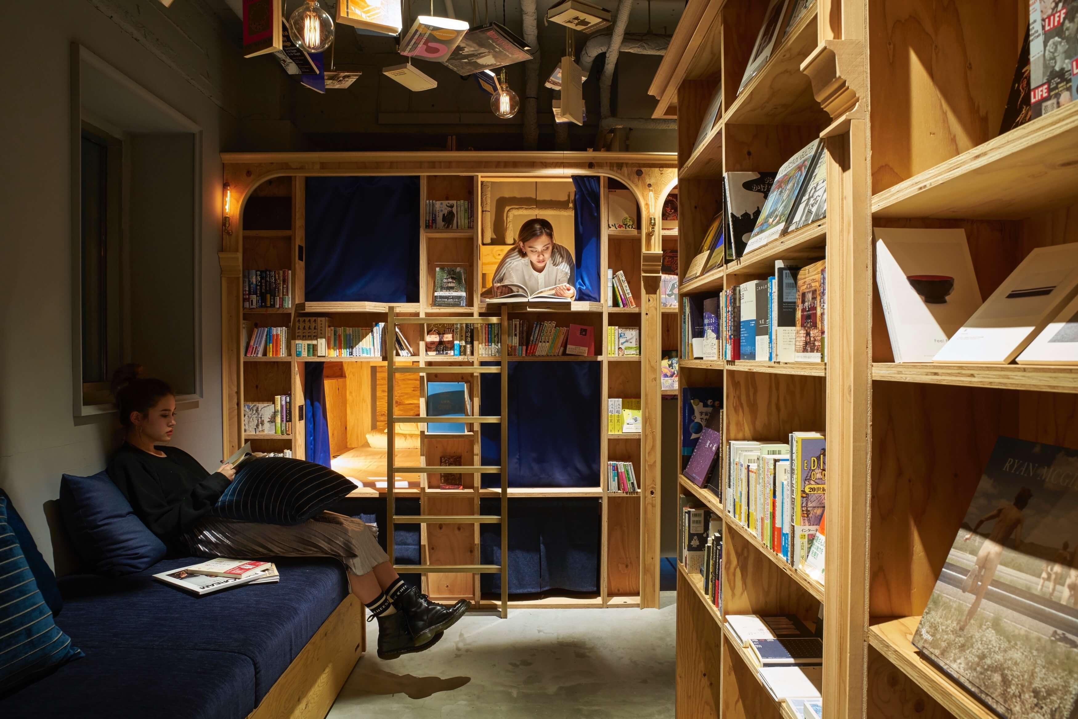 可以過夜的書店「BOOK AND BED TOKYO」今年秋天將於大阪・心齋橋開幕 住宿、在大阪、