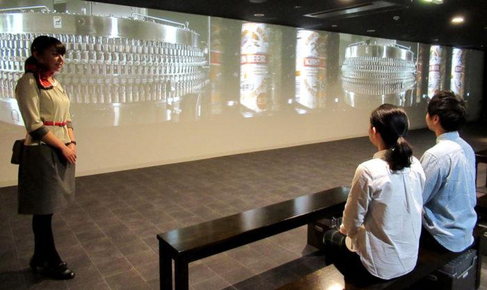 麒麟啤酒名古屋工廠室內