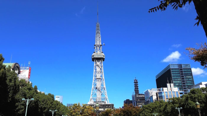 名古屋電視塔日景