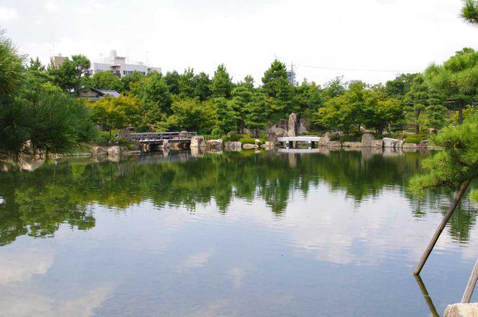 德川園景色