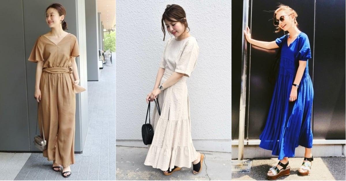 連身洋裝不NG!掌握日本女生迅速穿搭出時髦感的秘訣