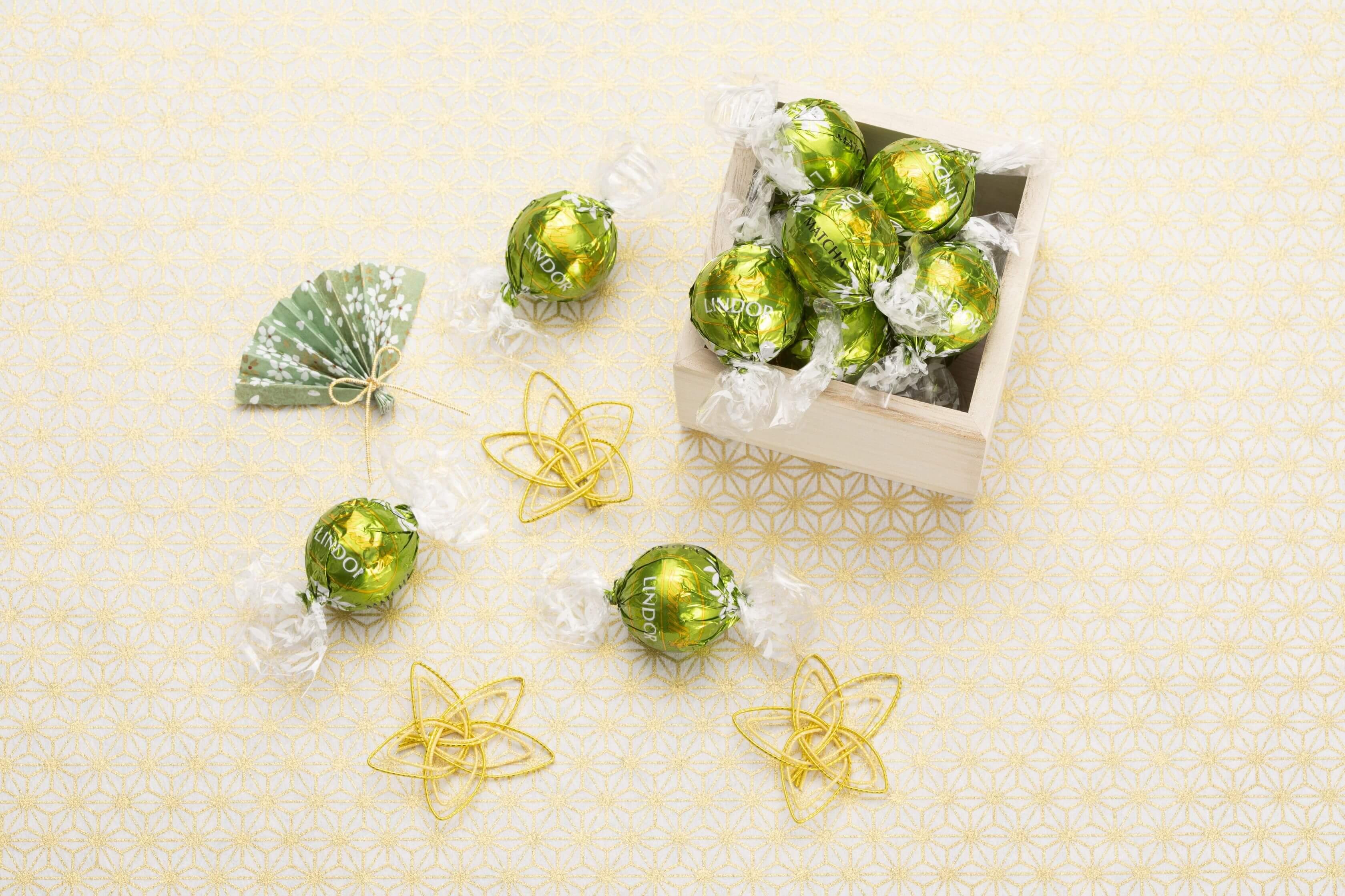 Lindt首度推出日式口味「LINDOR 抹茶」新發售 抹茶_、甜點、