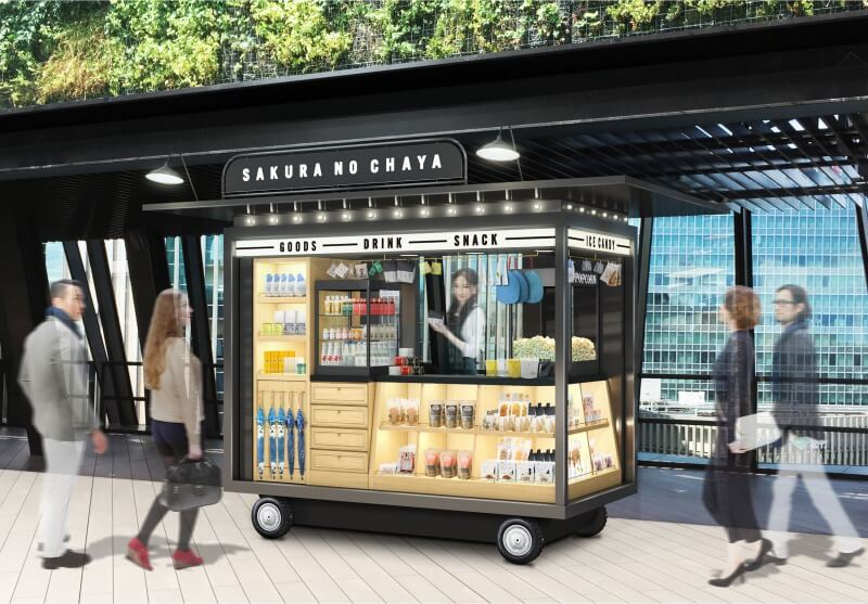東急PLAZA銀座「櫻之茶屋」作為特產直銷商店翻新開幕 在銀座、