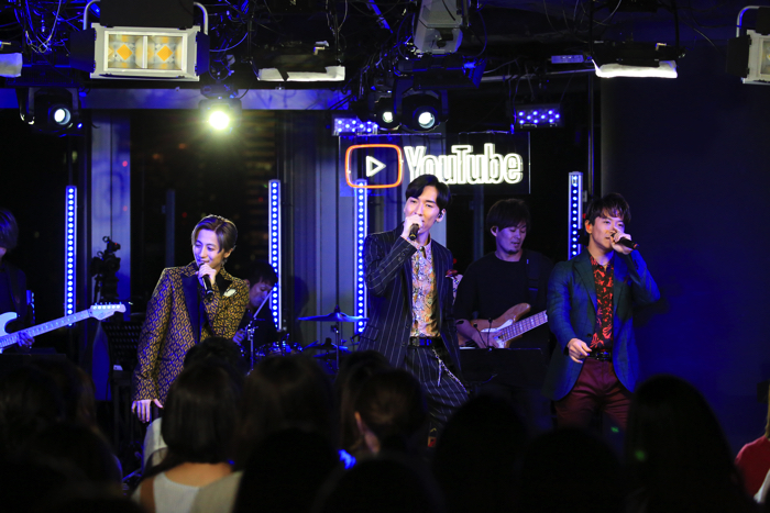 w-inds.於YouTube Space Tokyo上展開Premium Live w_inds、