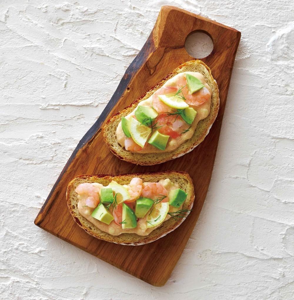 奶油乳酪明太子口味料理示範