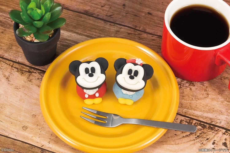 米奇和米妮的「食べマス(可以吃的角色吉祥物)」和菓子於日本7-11發售 迪士尼、
