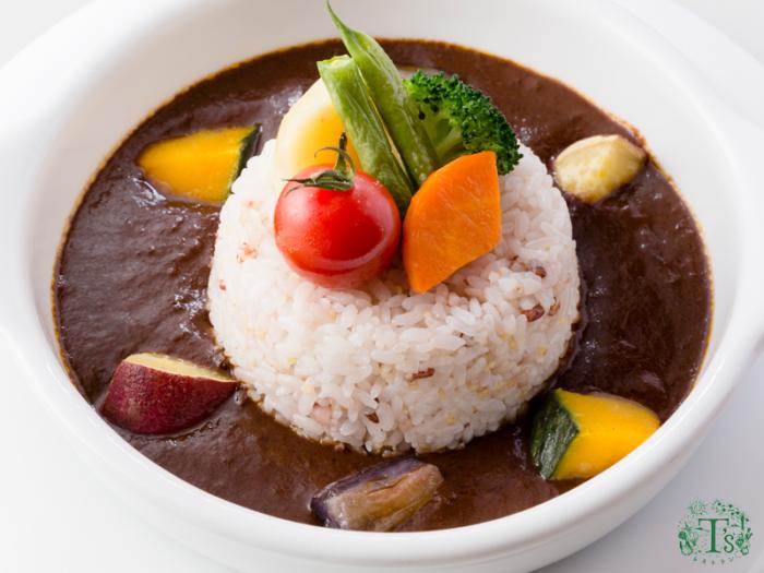 東京自由之丘素食餐廳Ts蔬菜咖哩