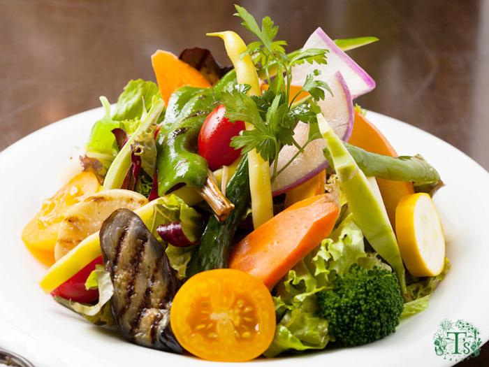 東京自由之丘素食餐廳Ts沙拉salad