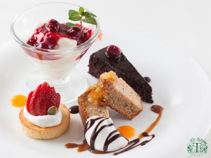 東京自由之丘素食餐廳Ts甜點拼盤