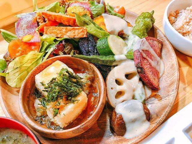 日本東京表參道素食餐廳たまな食堂tamana restaurant每日菜單