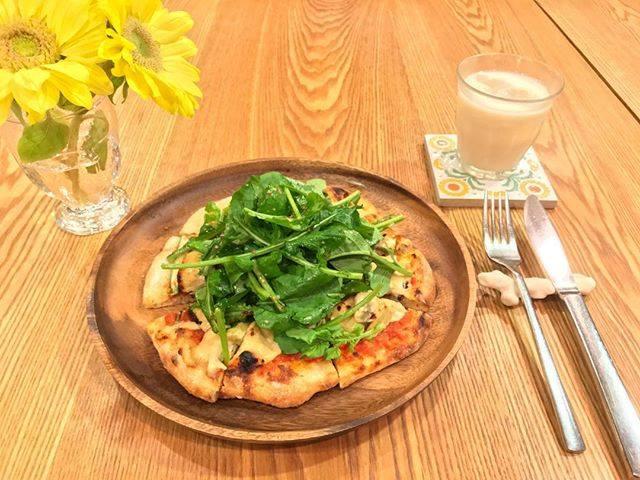 日本東京表參道素食餐廳たまな食堂tamana restaurant每日菜單批薩pizza