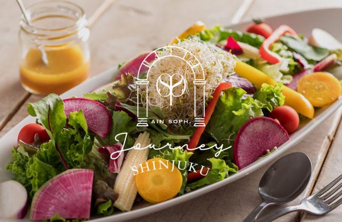 日本東京新宿素食餐廳ain soph journey shinjuku 沙拉
