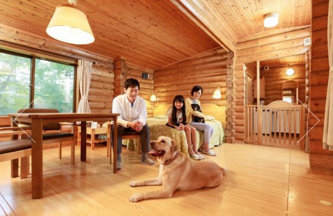 輕井澤王子飯店東館寵物房型