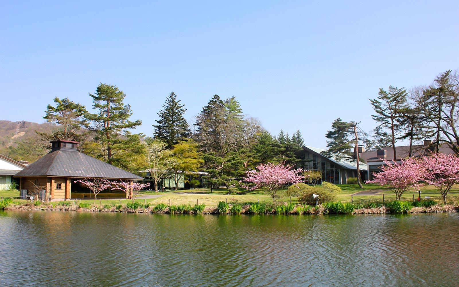 輕井澤王子飯店西館室外外觀