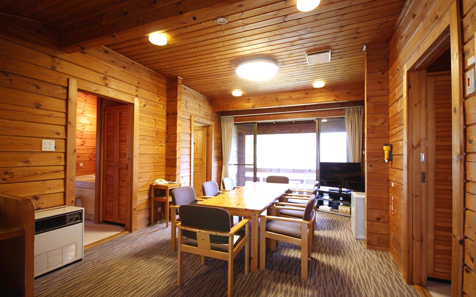 輕井澤王子飯店西館木屋房型