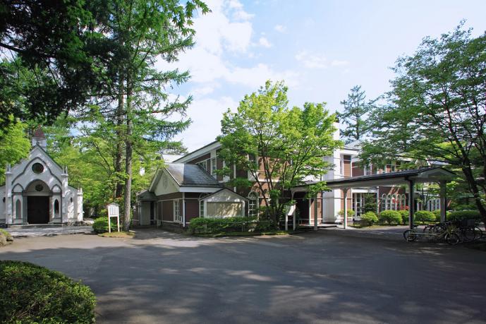 輕井澤圭音羽之森酒店外觀
