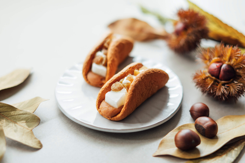 生銅鑼燒專賣店DOU 推出秋季新口味「生銅鑼燒(栗子)」發售 甜點、銅鑼燒、