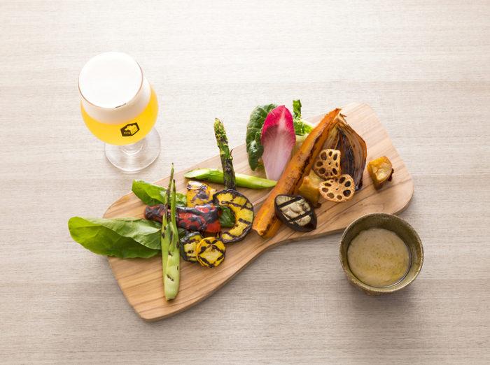 svb京都烤京野菜配啤酒