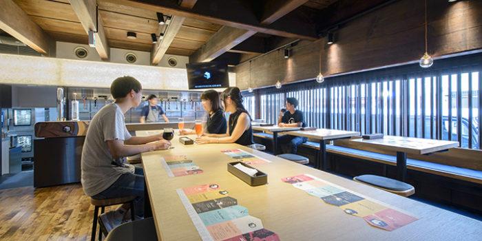 svb京都一樓座位區