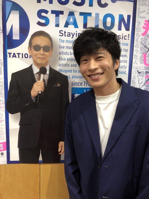 田中圭錄製Music Station