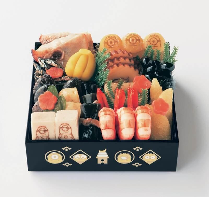 「小小兵」化為日本的過年料理定番・御節料理登場! 小小兵、