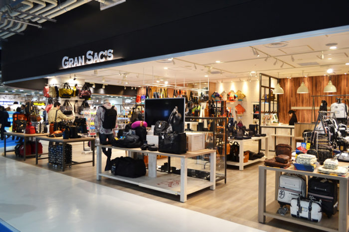 成田空港第三航廈包包GRAN SAC'S