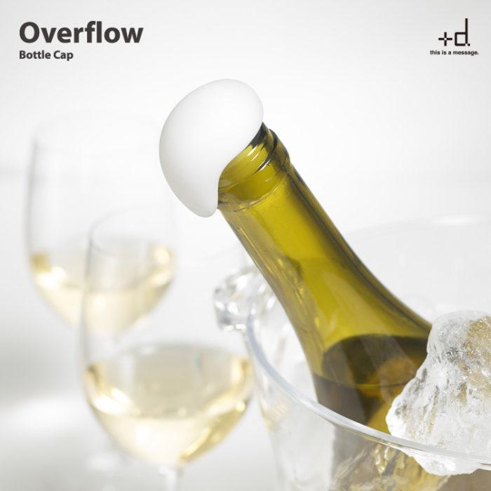 +d Overflow 泡沫瓶塞