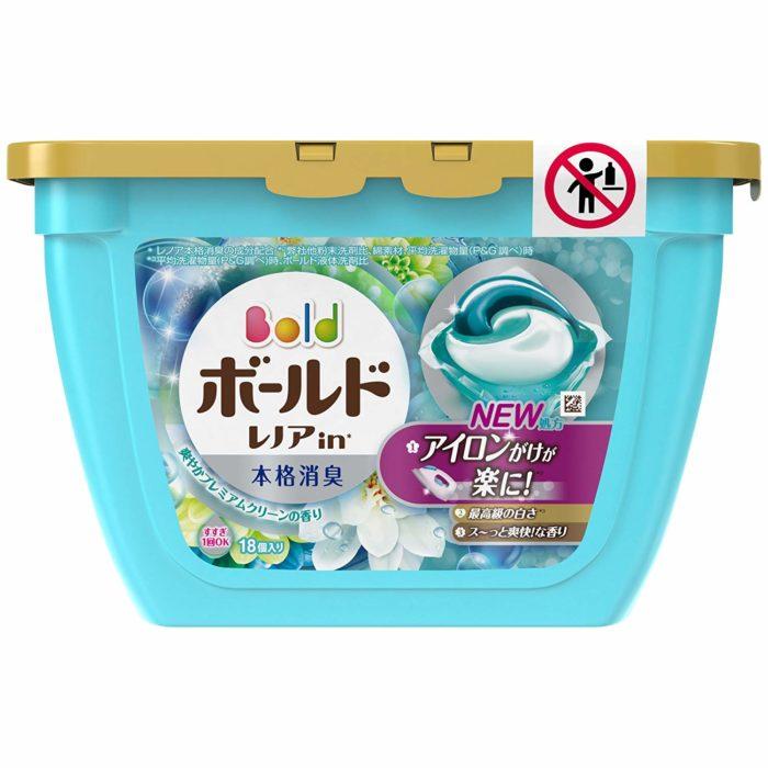 日本P&G第三代3D洗衣膠球豪華潔淨香氛