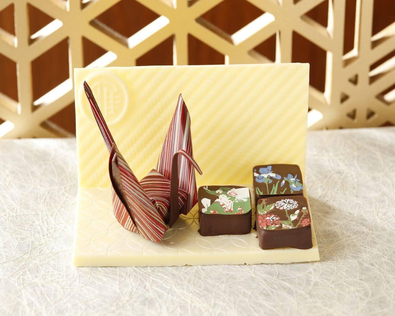 日本伴手禮新選擇!東京雅敘園酒店的日式藝術巧克力「紙鶴巧克力」 HOTEL雅敘園、手禮、
