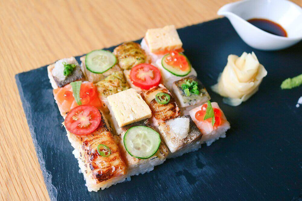 """在日本體驗""""發源於加拿大的壽司""""!?sushi bar「KINKA」於六本木開幕 在六本木、壽司、澀谷、"""