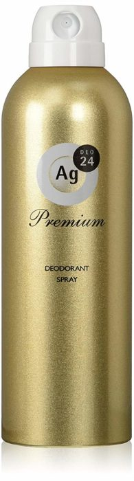 Agdeo24止汗噴霧premium進階版金瓶