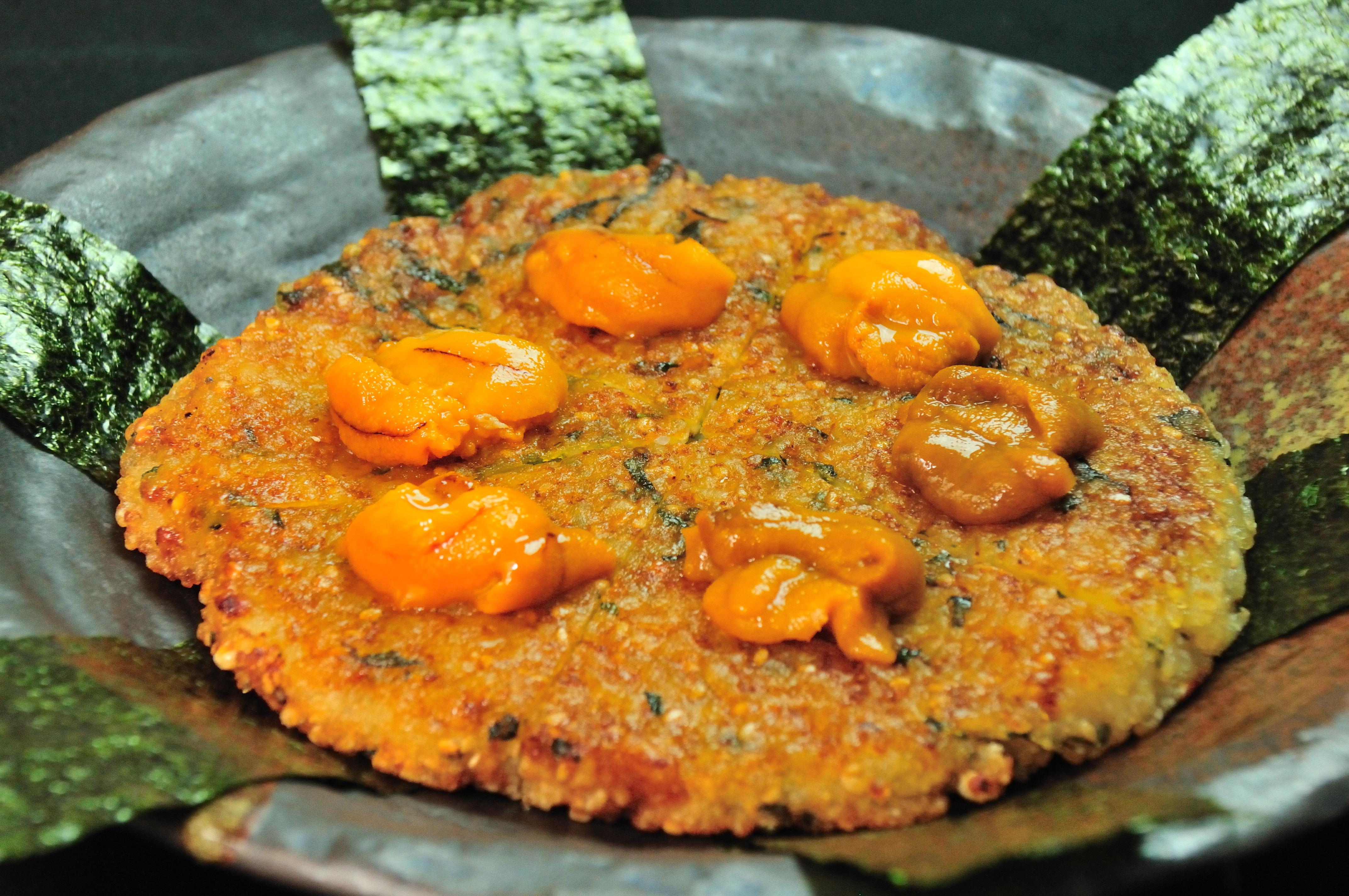 海膽平燒御飯糰飯