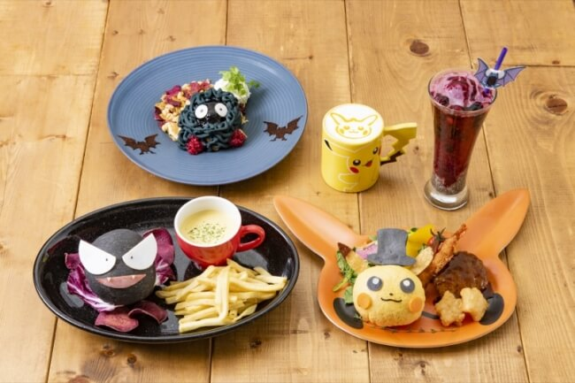 日本橋「精靈寶可夢咖啡廳」推出期間限定秋季新菜單登場 合作、皮卡丘、精靈寶可夢、