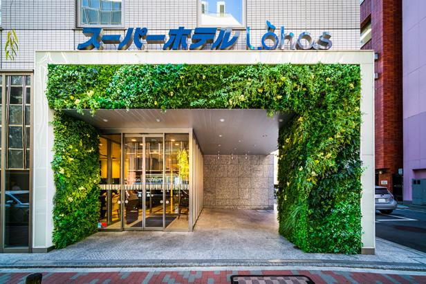 SUPERHOTEL東京車站八重洲中央口外觀