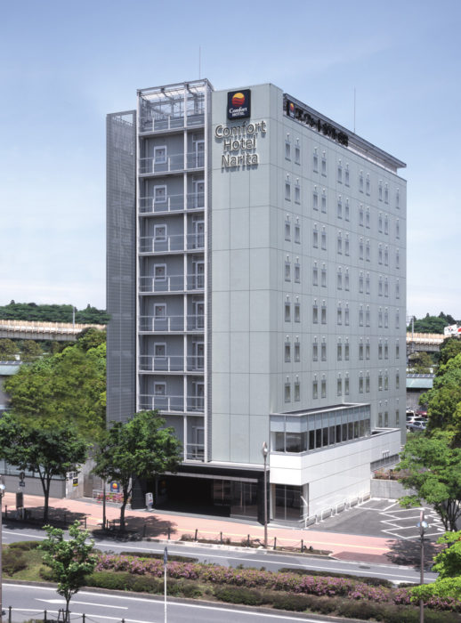 comforthotel康福特酒店成田店外觀