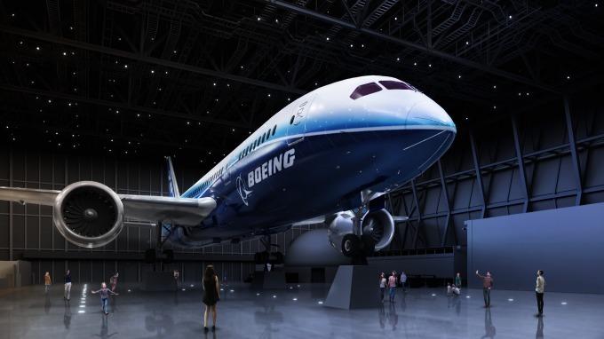 FLIGHT OF DREAMS飛機展示空間