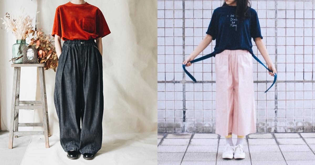 搭上寬鬆剪裁的風格趨勢,女子寬褲的理想風格提案