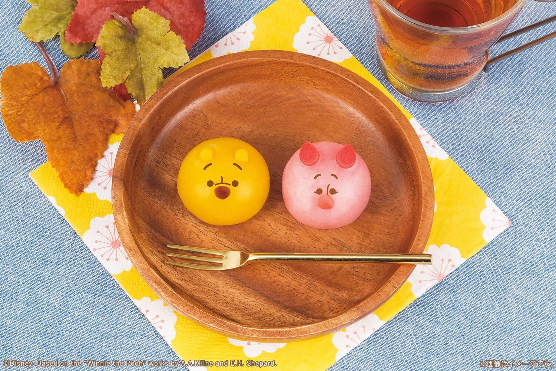 """小熊維尼和小豬變成""""軟綿綿的甜點""""! 共八種表情 甜點、迪士尼、"""