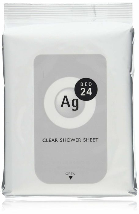Ag DEO24 清潔沐浴紙巾 clear shower sheet