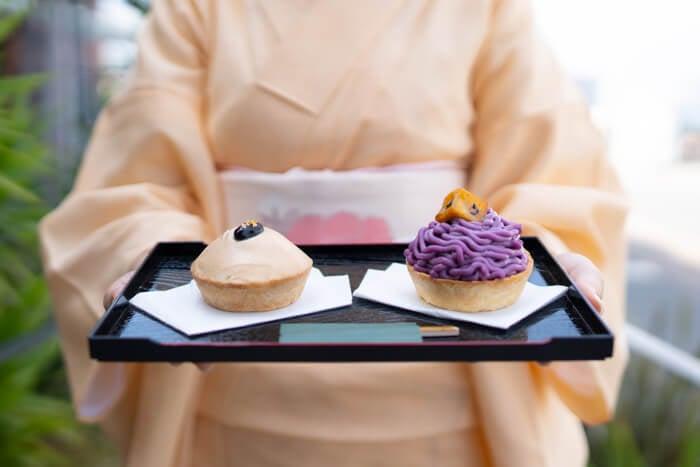 """從餡餅專賣店""""Pie Holic""""登場的秋季限定""""和式甜餡餅"""" 甜點、"""