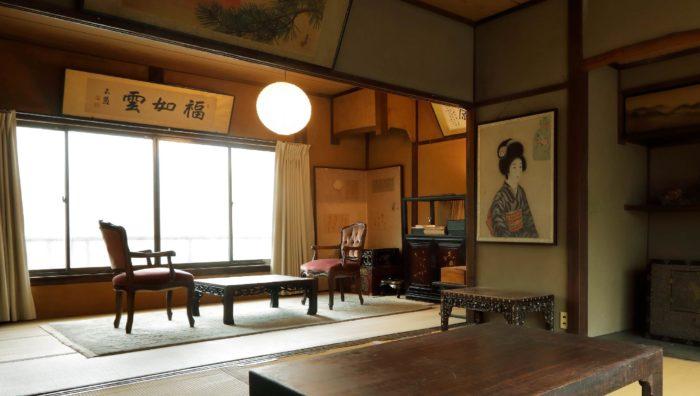 Tsukito民宿與沙龍大廳