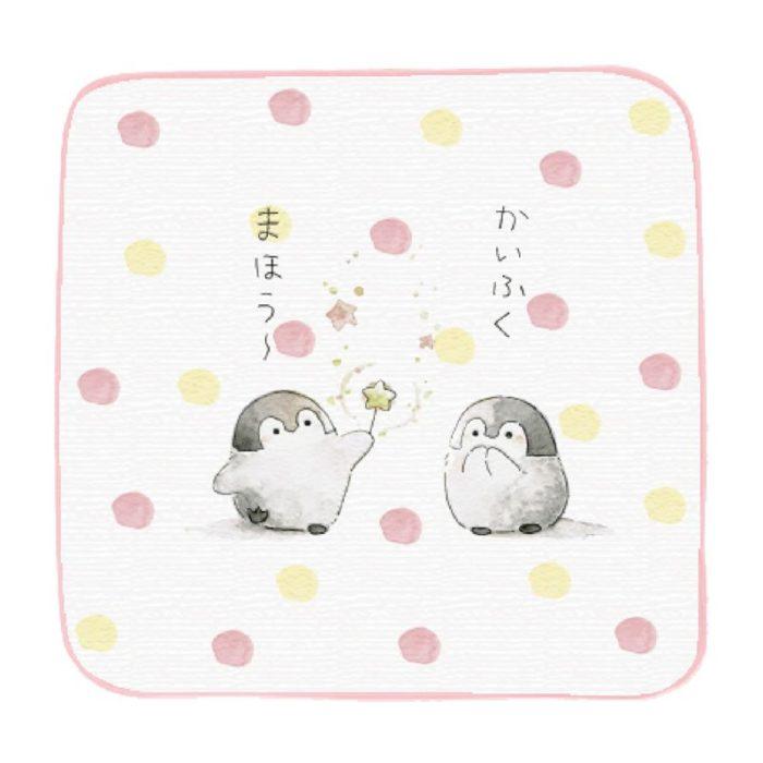 正能量企鵝手帕