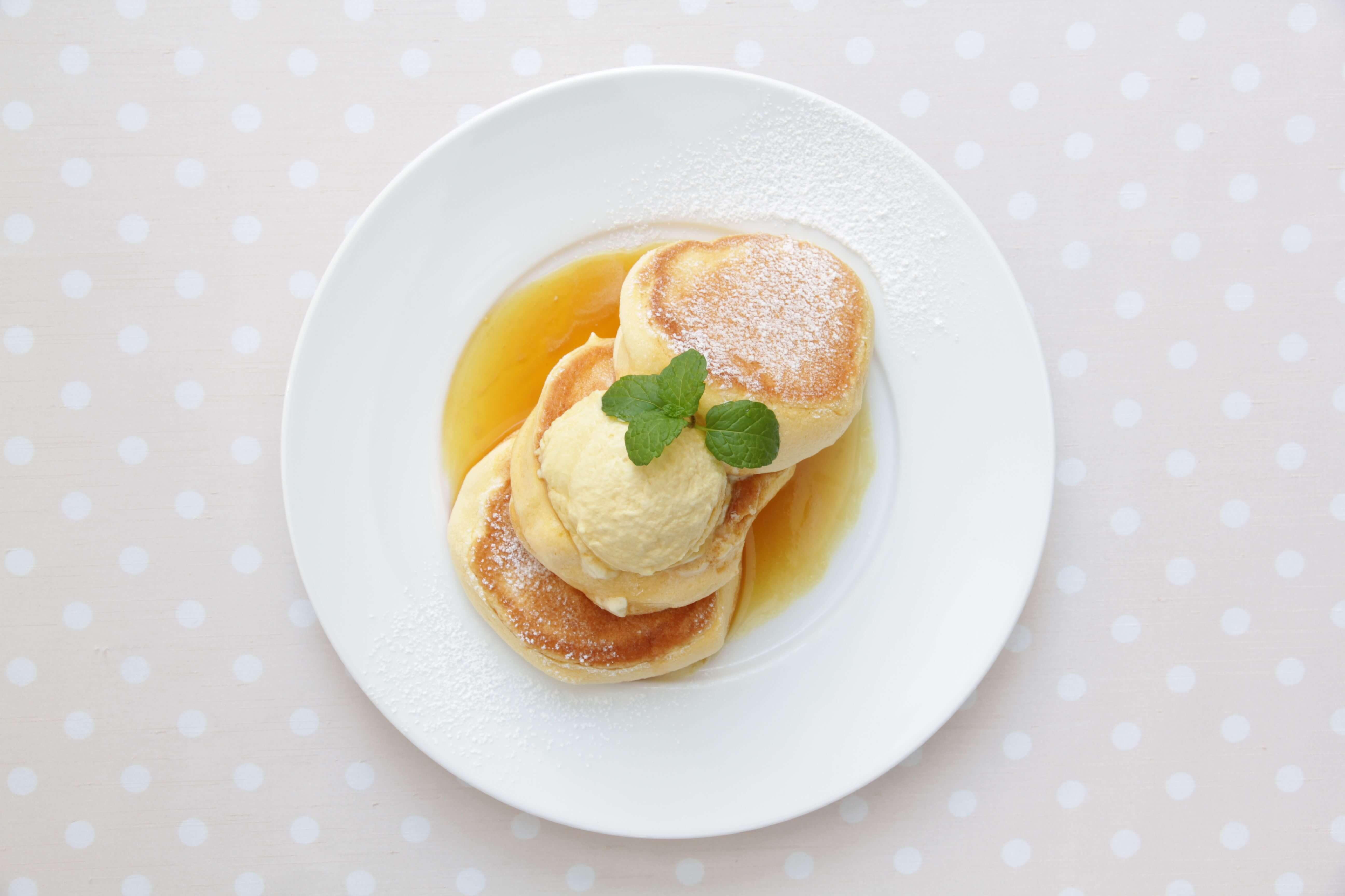 「幸福的鬆餅」香港店開幕!販售京都店限定的抹茶&小倉紅豆奶油 甜點、鬆餅、