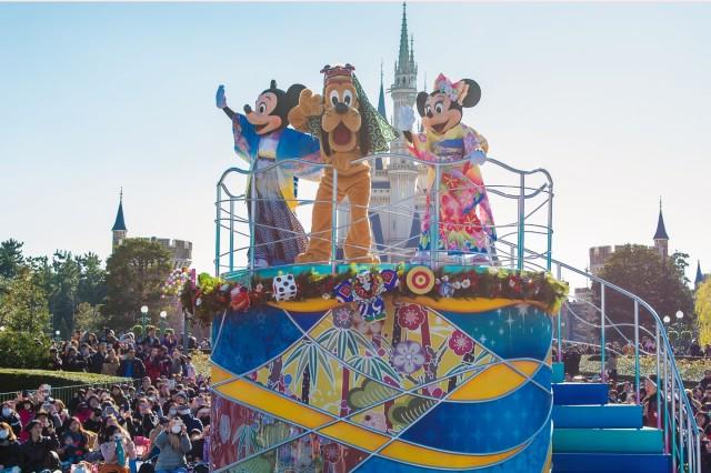 穿著和服的米奇老鼠登場!東京迪士尼度假區舉行新年的限定節目 東京迪士尼度、東京迪士尼樂園、東京迪士尼海洋、