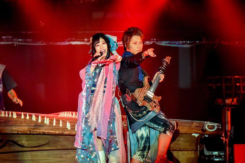 和樂器樂團、京都「和樂器高峰會」的主要出演者在平安神宮舉辦現場表演 和樂器樂團、
